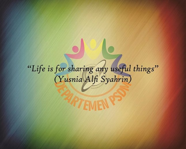 Life is For Sharing Any Useful Things