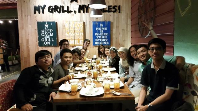 Quality time bersama teman-teman